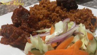 HOW TO PREPARE THE PERFECT BEEF JOLLOF RICE RECIPE