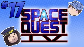 Space Quest IV: Hack into the Mainframe - PART 17 - Steam Train
