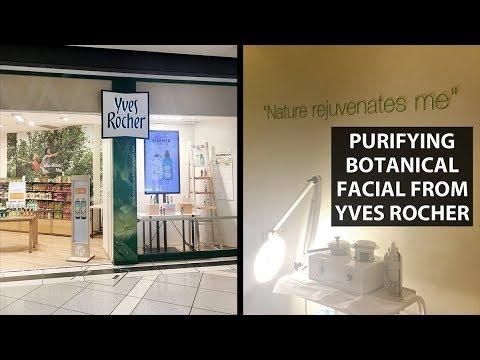 YVES ROCHER FACIAL REVIEW | Purifying Botanical Facial At CF Toronto Eaton Centre