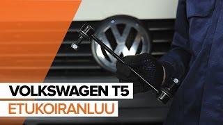 Kallistuksenvakaajan yhdystanko irrottaminen VW - video-opas