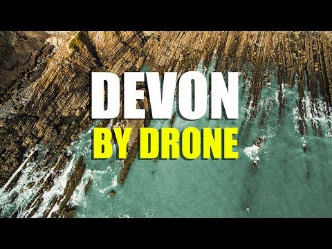 Cinematic Drone Footage of Hartland PENINSULA NORTH DEVON, England from Above.