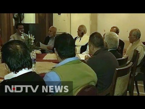 Delegation Led By BJP's Yashwant Sinha Meets Separatist Syed Ali Shah Geelani