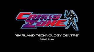 """Namco Crisis Zone - """"Garland Technology Centre"""" Game Play (Projected)"""