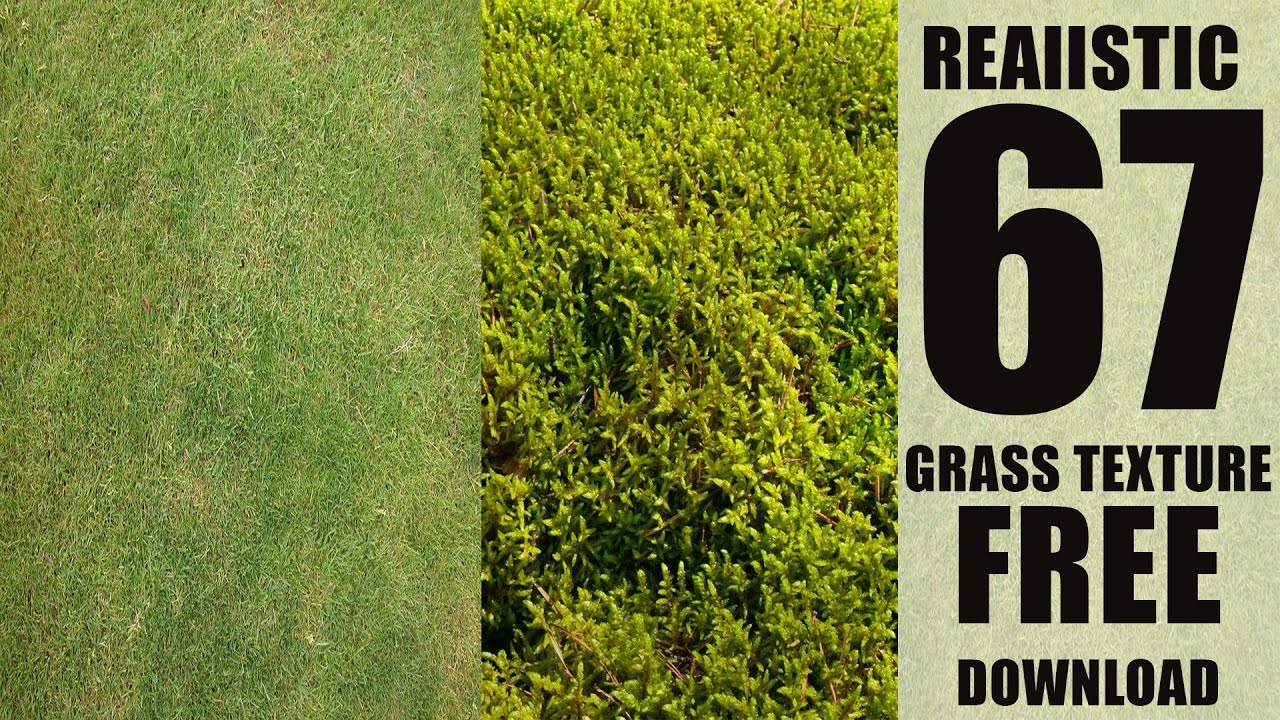 67 HD Grass Textures Pack FREE Download