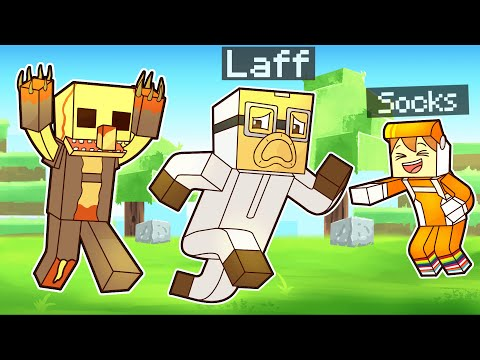 Trolling Laff with the PARASITE MINECRAFT MOD (hilarious)