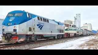 Amtrak Empire Builder Lake City MN