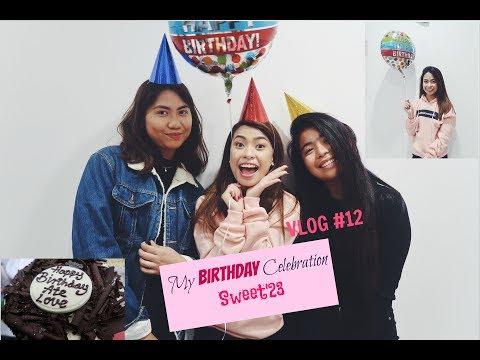 MY BIRTHDAY CELEBRATION VLOG #12 | MissMaryJ.