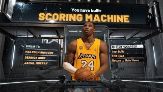 Best Scoring Machine Build on NBA 2K20! 57 Badge Upgrades! Best Build on NBA 2K20!