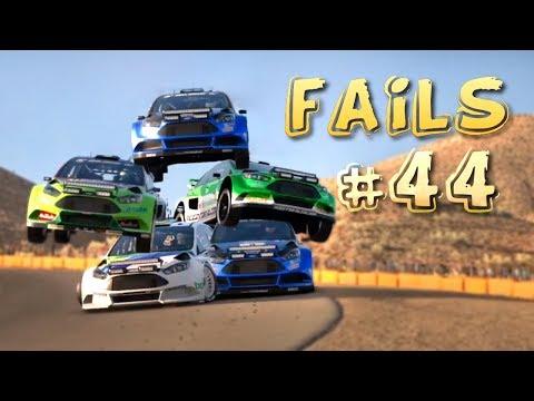 Racing Games FAILS Compilation #44