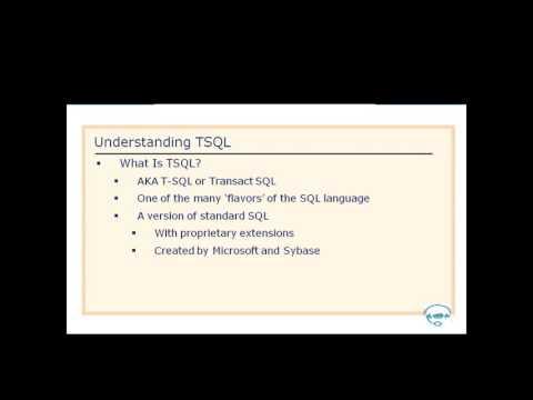 SQL Server 2012 (70-462) - 1. SQL Server 2012 Introduction.