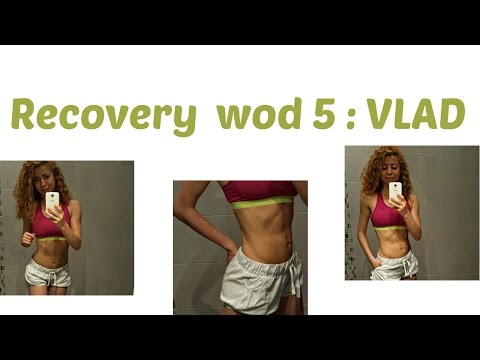 VLAD Recovery  WOD 5:RumFit Challenge: Workout for Muscle Soreness, Yoga For Sore After Exercise