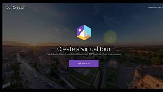 Google Tour Creator : Part I - Overview