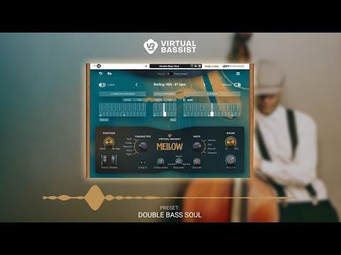 UJAM Instruments Preset Show – Virtual Bassist MELLOW as Rack Extension