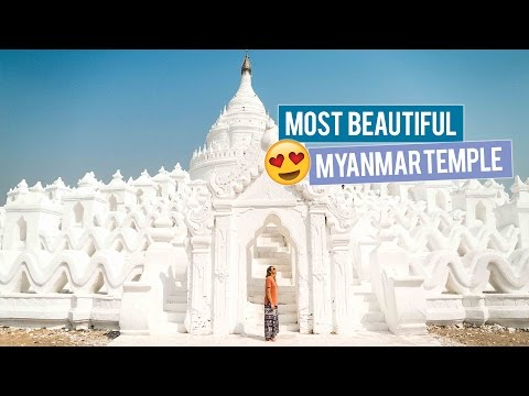 Most Beautiful Temple in Myanmar - The Taj Mahal of Myanmar!