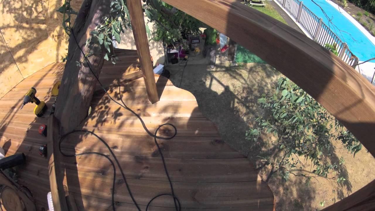 Construire cabane dans un arbre  YouTube