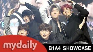 B1A4(비원에이포), 다시 돌아온 만능돌의 '거짓말이야' 첫무대 [MD동영상]