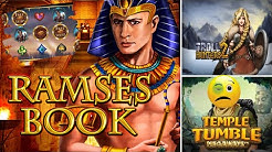 Online Casino Deutsch Slots - Ramses Book, Temple Tumble, Cazino Zeppelin, Troll Hunters 2