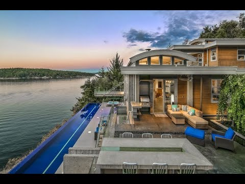 Award-Winning $7 Million 1.6 Acre Dream Home in North Saanich British Columbia Canada