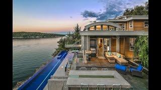 Award-Winning $7 Million 1.6 Acre Dream Home in North Saanich British Columbia Canada