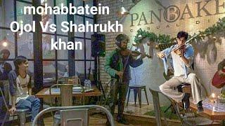 Shahrukh khan kalah oleh ojol Mainkan lagu mohabatain pake biola _ semua pengunjung cafe tercengang