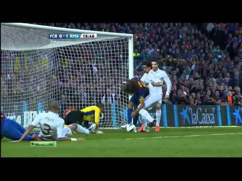 Sami Khedira Goal - FC Barcelona - Real Madrid 1:2 - 21.04.2012 - Gran Derbi