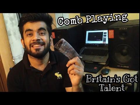 Comb As Instrument | World's Unique Instrument | Britain's Got Talent | Ae Zindagi Gale Laga Song