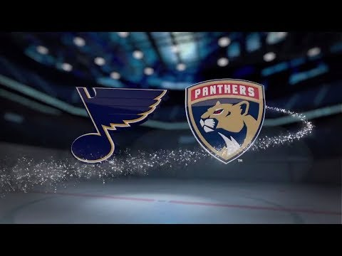 St. Louis Blues vs Florida Panthers - October 12, 2017 | Game Highlights | NHL 2017/18. Обзор матча.