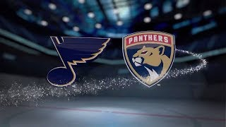 �������� ���� St. Louis Blues vs Florida Panthers - October 12, 2017 | Game Highlights | NHL 2017/18. Обзор матча. ������