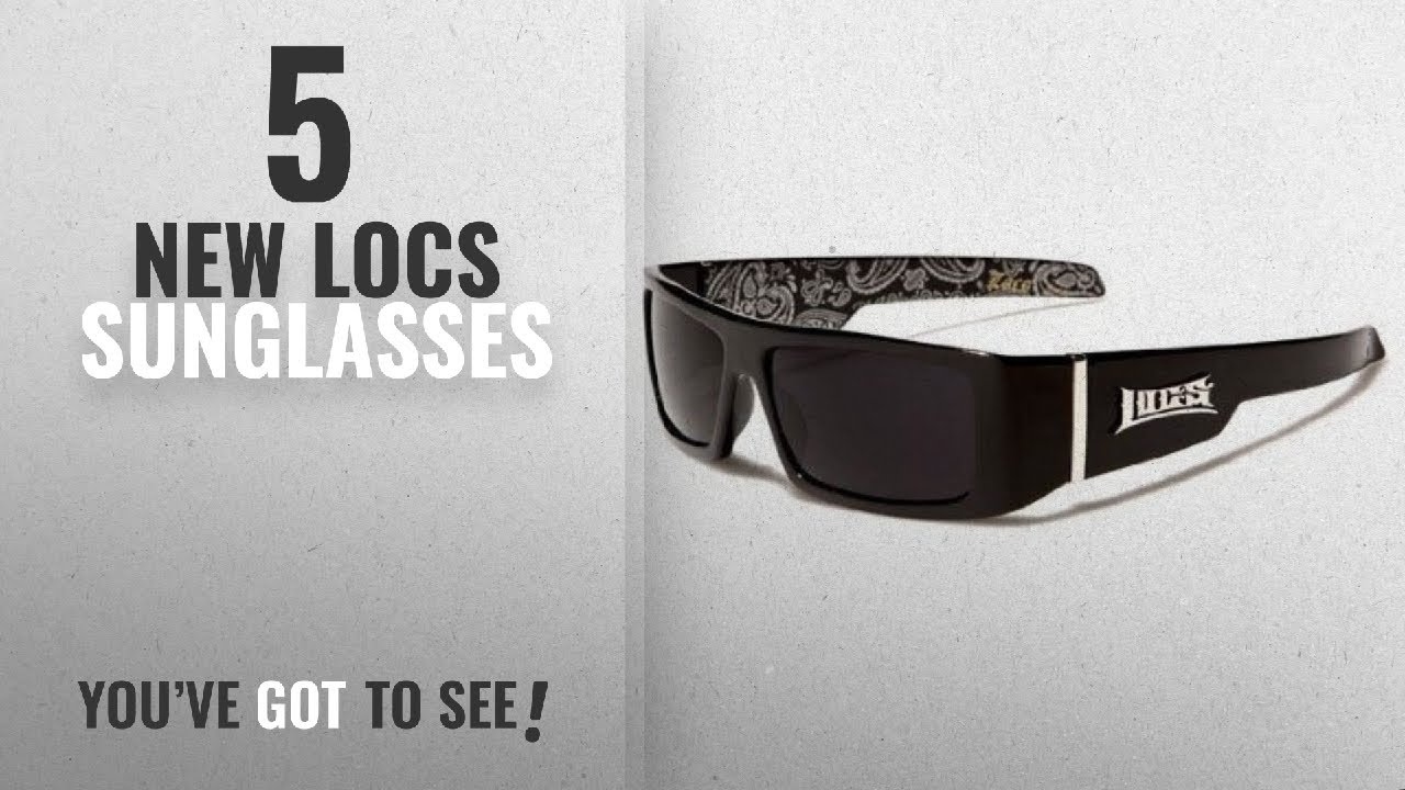 954ae12086804 Top 10 Locs Sunglasses   Winter 2018    Locs Mens Hardcore Gafas De ...