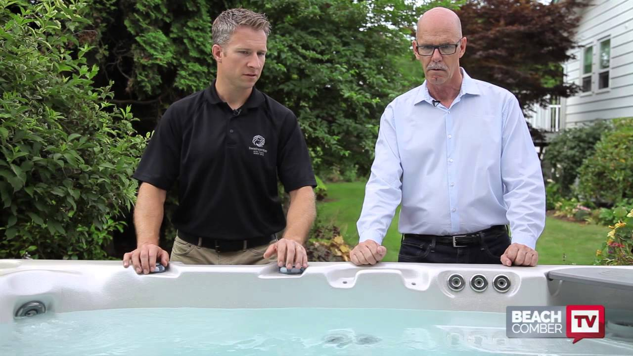 Download Beachcomber Hot Tubs - The control panel and massage jets