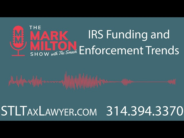 Ep. 53, Seg. 4: IRS Funding and Enforcement Trends