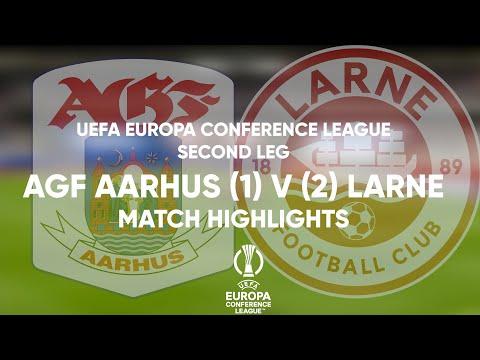 Aarhus Larne Goals And Highlights