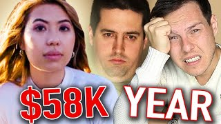 Millionaire Reacts: Living On $58K A Year In Dallas | Millennial Money