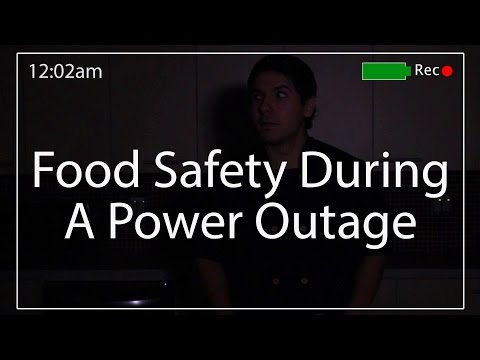 Food Safety During A Power Outage