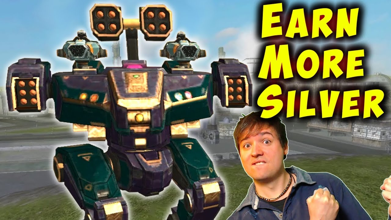How To EARN MORE SILVER PER HOUR - War Robots FFA Trick Gameplay WR