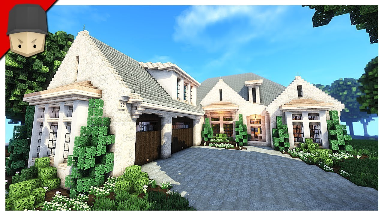 Minecraft   Amazing Country House!