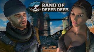 FPS TOWER DEFENSE COM VISUAL MAD MAX  - BAND OF DEFENDERS (COOP ONLINE)