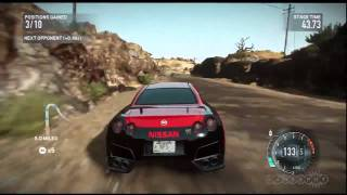 Death Valley - Need for Speed: The Run Gameplay Video (PS3)