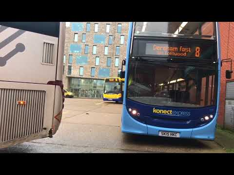 Buses at: Norwich Bus station 14/02/18)