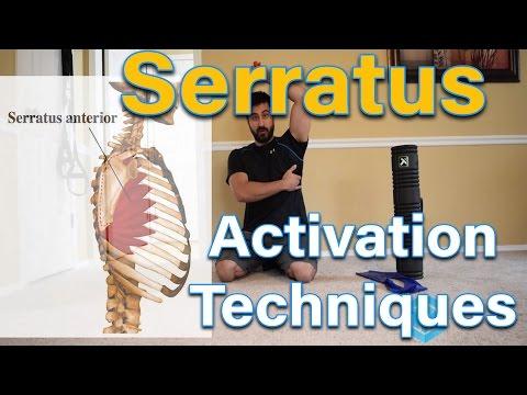 Serratus Activation Exercises