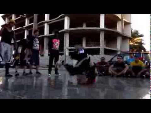 BBOY YOUNESS FLYING 9 - 2013 -TRIPOLI   LIBYA