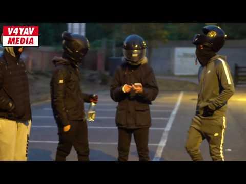 The Moped Gangs of London: UK Bikelife REPO team members