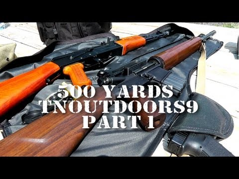 500 Yards with tnoutdoors9 - Part 1 - Trouble out of the Gate!