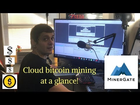 Cloud Mining Bitcoin Passively! | Working With Minergate