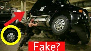 Secret Of Braun Strowman Truck Flip ! Fake Incident By Braun Strowman Flips Truck ? Reality !