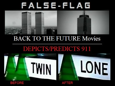 BACK TO THE FUTURE | The Best 911 #FALSEFLAG WARNING EVER!