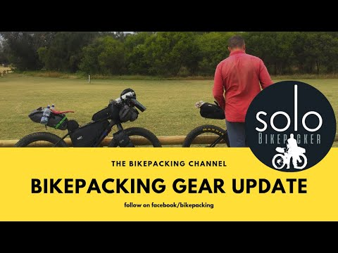 Bikepacking gear test update