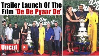 Trailer Launch Of The Film 'De De Pyaar De' | Official Trailer of 'De De Pyaar De' | Ajay Devgan