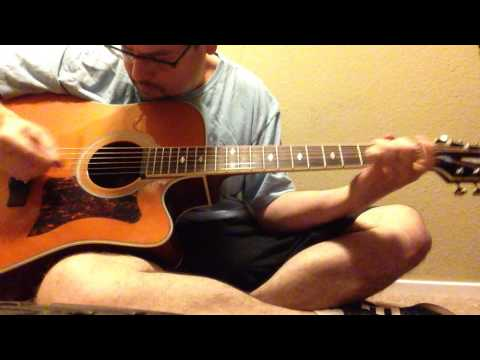 Outlaws - Green Grass and High Tides - HD - Acoustic Guitar Cover - Main Riff