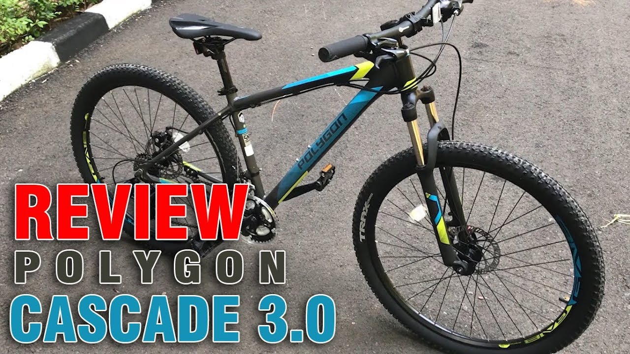 Review Polygon Cascade 3 Sepeda Yang Cocok Buat Santai Youtube 4